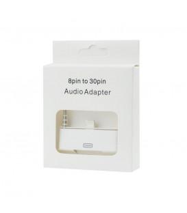 Adaptor audio iPhone 4S/5S (8pin pentru 30pin)