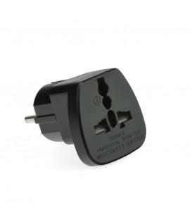 Adaptor AC220V PL/EU Plug pentru UK QZ36-9 Negru