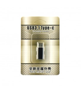 Adaptor Micro USB / MicroUSB (Tip C) Negru