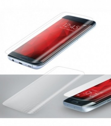 Folie Sticla Full Face Samsung Galaxy S8 Flexibila Forcell Fata+Spate