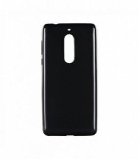 Husa Nokia 5 Jelly Flash Mat Neagra