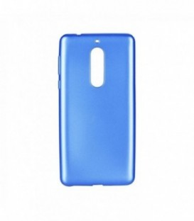 Husa Nokia 5 Jelly Flash Mat Albastra