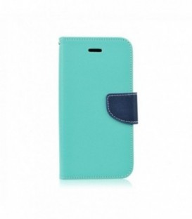 Husa Samsung Galaxy S8 Fancy Book Menta-Bleumarin