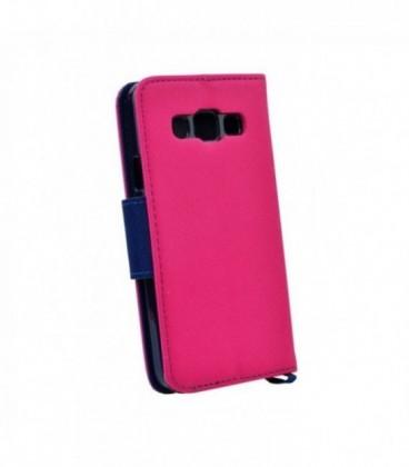 Husa Samsung Galaxy S8 Fancy Book Roz-Bleumarin