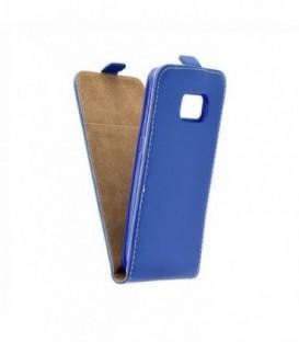 Husa Samsung Galaxy S8 Flip Slim Flexi Fresh Albastra