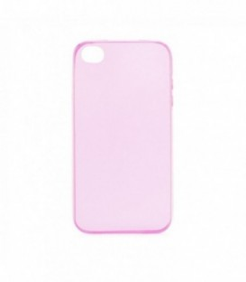 Husa Apple iPhone 4/4S Ultra Slim 0.3mm Roz