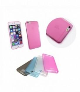 Husa Apple iPhone 5/5S/SE FLEXMAT Roz