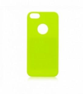 Husa Apple iPhone 5/5S/SE Jelly Flash Verde Deschis
