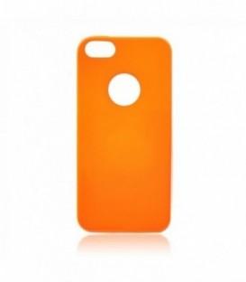 Husa Apple iPhone 5/5S/SE Jelly Flash Portocalie