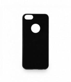 Husa Apple iPhone 5/5S/SE Jelly Flash Neagra fara Sclipici
