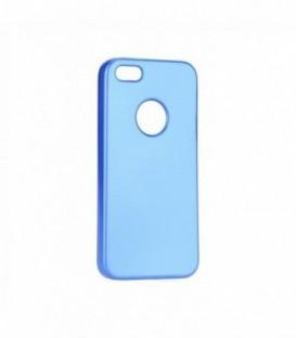Husa Apple iPhone 5/5S/SE Jelly Flash Mat Albastra