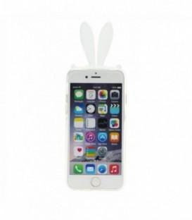 Husa Apple iPhone 5/5S/SE 3D Urechi Gri