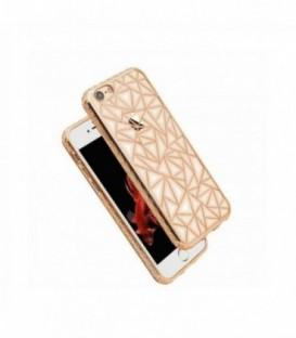 Husa Apple iPhone 5/5S/SE Luxury Metalic Neagra
