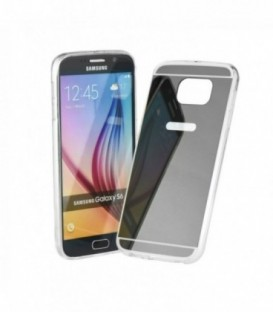 Husa Apple iPhone 5/5S/SE Forcell Mirror Gri