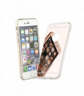 Husa Apple iPhone 5/5S/SE Forcell Mirror Roz