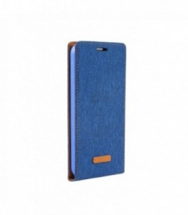 Husa Samsung Galaxy S7 Flip Canvas Flexi Albastra