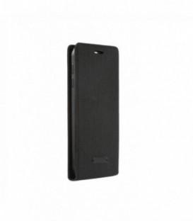 Husa Samsung Galaxy S6 Flip Canvas Flexi Neagra