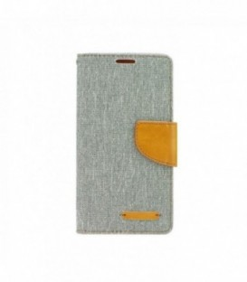 Husa Apple iPhone 4/4S Canvas Book Gri