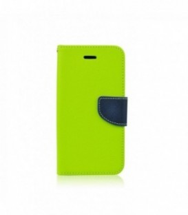 Husa Sony Xperia M4 Aqua Fancy Book Lime