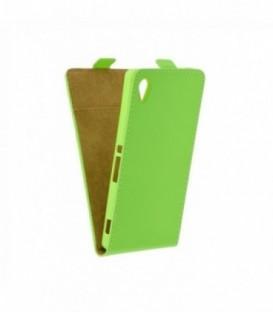 Husa Sony Xperia M4 Aqua Flip Slim Flexi Fresh Lime