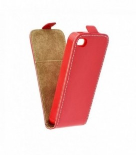 Husa Apple iPhone 4/4S Flip Slim Flexi Fresh Rosie