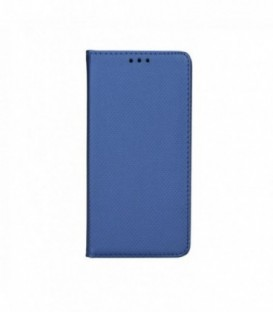 Husa Apple iPhone 4/4S Smart Book Bleumarina