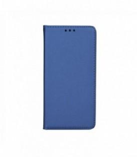 Husa Lenovo K5/K5 Plus Smart Book Bleumarina
