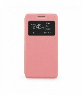 Husa Samsung Galaxy A5 S-View Flexi Roz