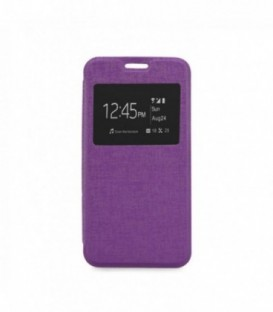 Husa Microsoft Lumia 650 S-View Flexi Violeta