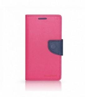 Husa LG Magna G4 Mercury Fancy Diary Roz-Bleumarina