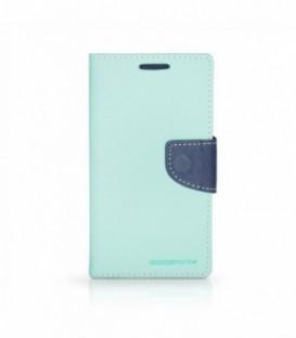 Husa LG Magna G4 Mercury Fancy Diary Menta-Bleumarina