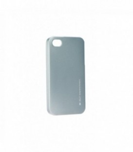 Husa Apple iPhone 5/5S/SE i-Jelly Mercury Gri