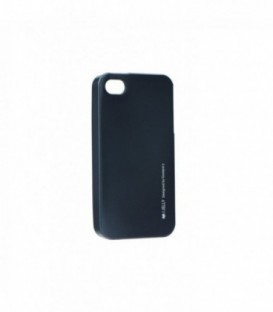 Husa Apple iPhone 5/5S/SE i-Jelly Mercury Neagra