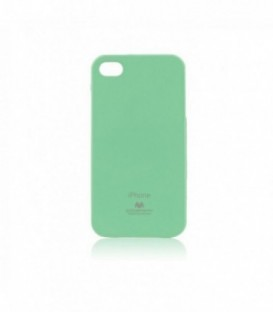 Husa Apple iPhone 4/4S Jelly Mercury Menta