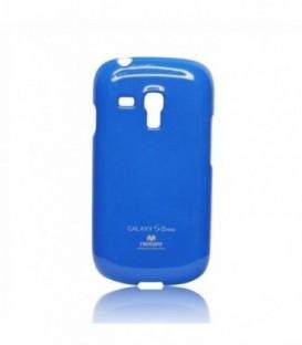 Husa Samsung Galaxy S4 Jelly Mercury Albastra