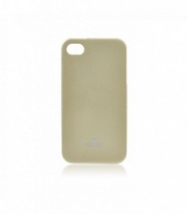 Husa Apple iPhone 4/4S Jelly Mercury Aurie