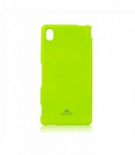 Husa Sony Xperia M4 Aqua Jelly Mercury Lime