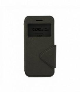 Husa Sony Xperia M4 Aqua Roar Fancy Diary Neagra