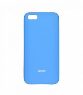 Husa Apple iPhone 5/5S/SE Roar Jelly Colorful Albastra