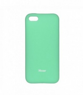 Husa Apple iPhone 5/5S/SE Roar Jelly Colorful Menta