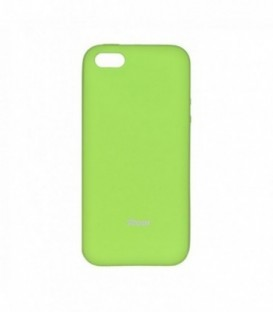Husa Apple iPhone 5/5S/SE Roar Jelly Colorful Lime