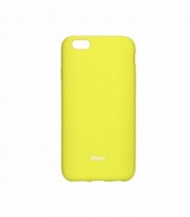 Husa Apple iPhone 5/5S/SE Roar Jelly Colorful Galbena