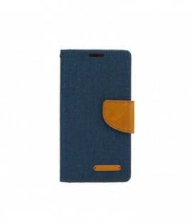 Husa Samsung Galaxy S8 Canvas Book Bleumarin