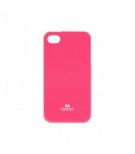 Husa Apple iPhone 4/4S Jelly Mercury Roz