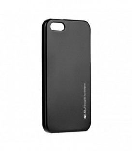 Husa Apple iPhone 4/4S i-Jelly Mercury Neagra