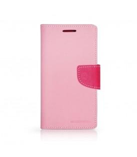 Husa Fancy Diary (Goospery) pentru SAMSUNG Galaxy ACE 4/ACE STYLE LTE (G357FZ) Roz